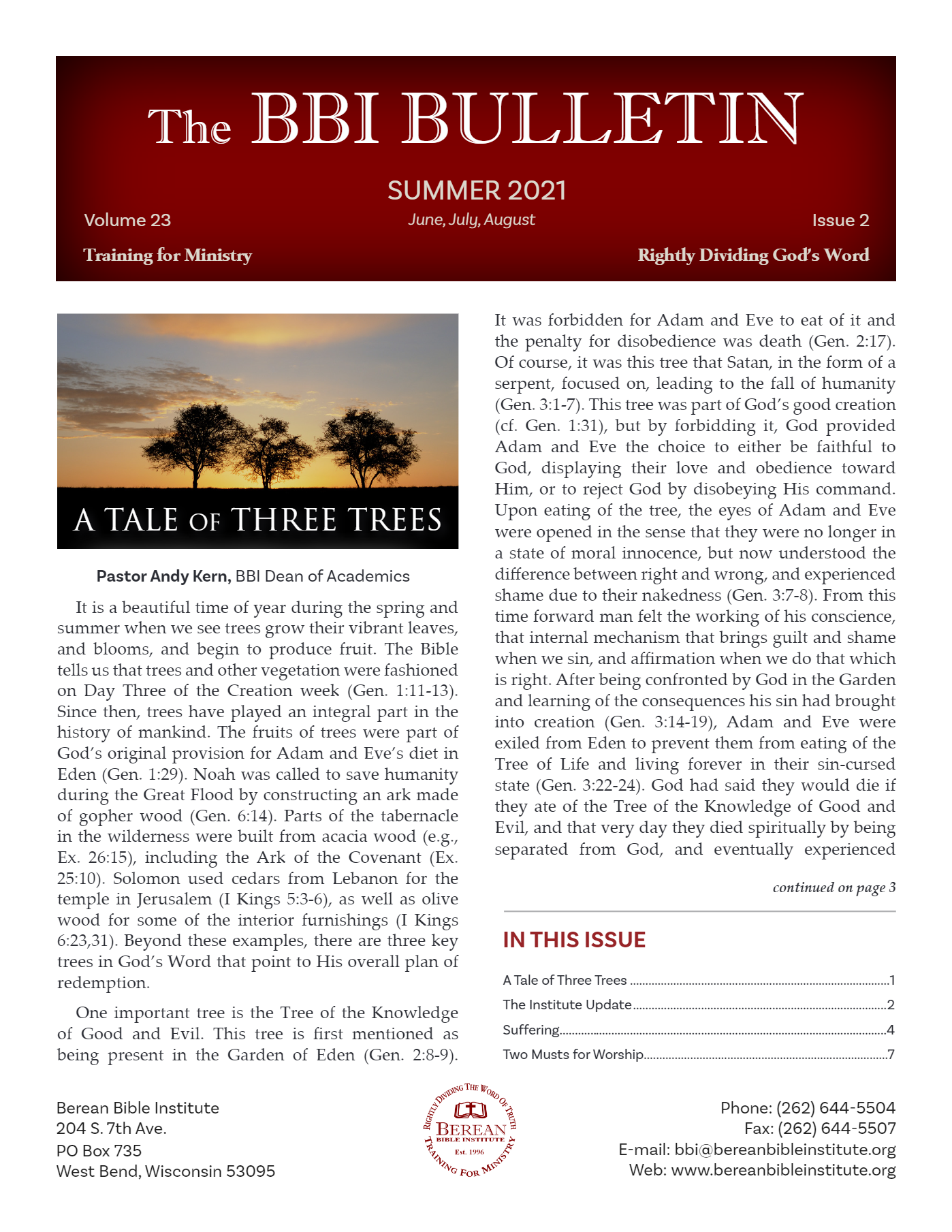 Bulletin-Summer-2021