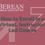 How to Enroll in VILT